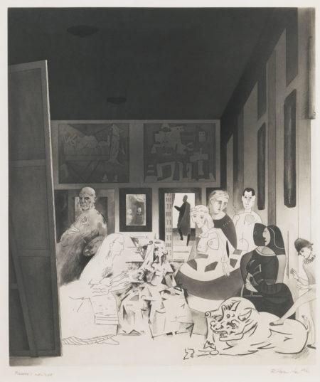 Richard Hamilton-Picasso's Meninas-1973