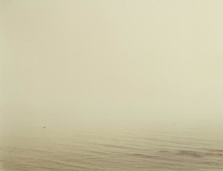 Richard Misrach-Untitled, Santa Barbara (Boat in Fog)-1984