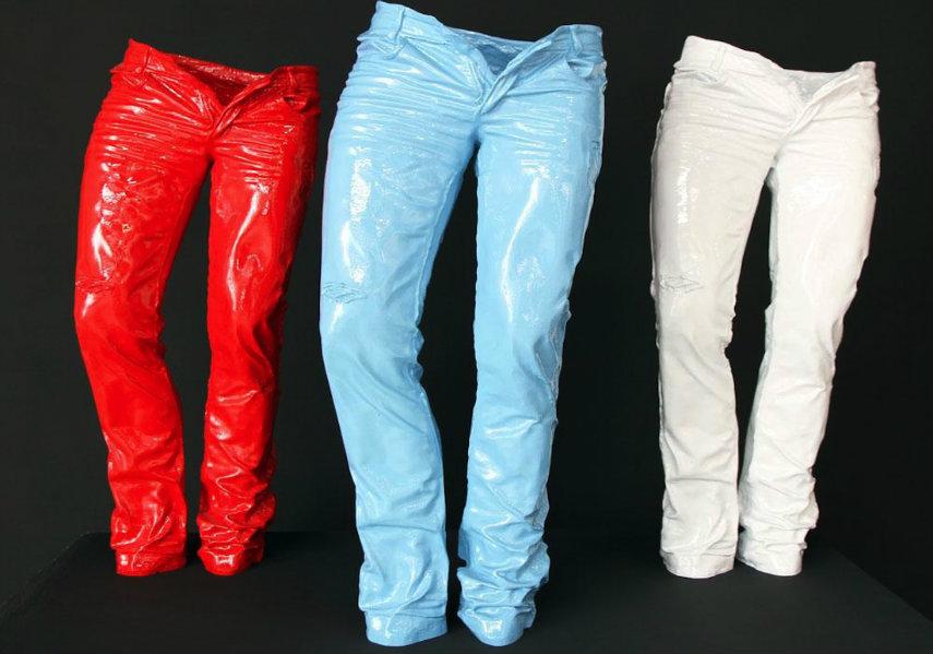 Richard Orlinski - Jeans, photo via themilliardaire.co wild galerie kong lion 2015 inception contact black