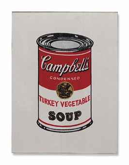 Richard Pettibone-Andy Warhol Turkey Vegetable (From 32 Campbell's Soup, 1962)-1987