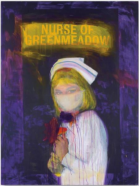 Richard Prince - Nurse of Greenmeadow, 2002