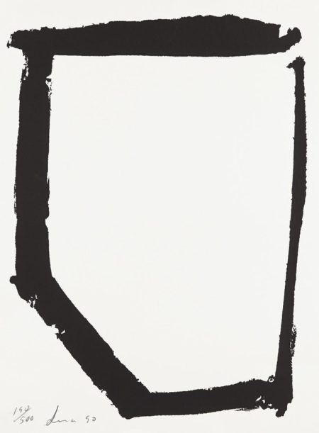 Richard Serra-Untitled (Film Forum Print)-1990
