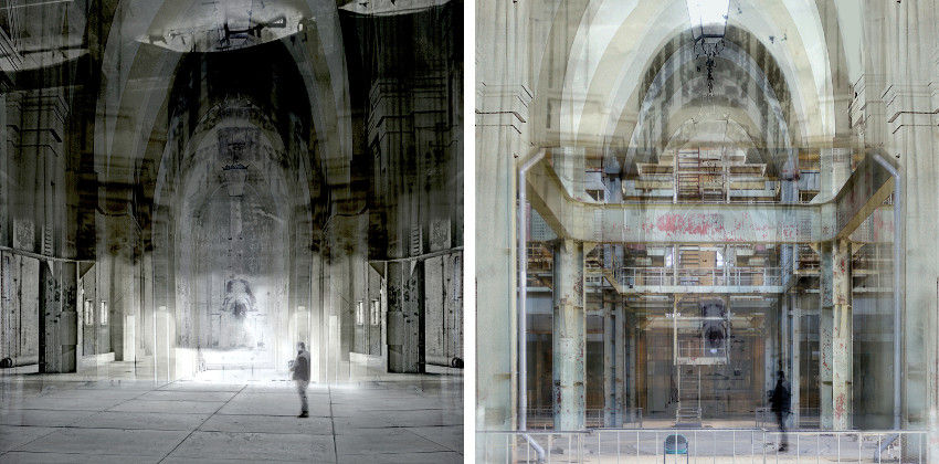 Robbert Fortgens - Lonely Place, 2015 (Left) - Lonely Place 2, 2015 (Right)