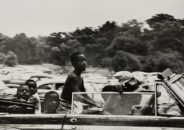 Robert Frank - Belle Isle, Detroit, 1955, via siaphotographz.wordpress com