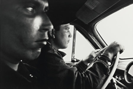 Robert Frank-Blackfoot, Idaho (U. S. 91, Leaving Blackfoot, Idaho)-1955