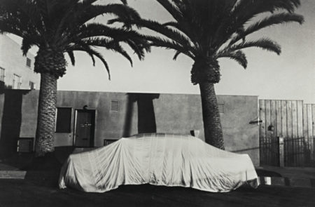 Covered Car - Long Beach, California-1956