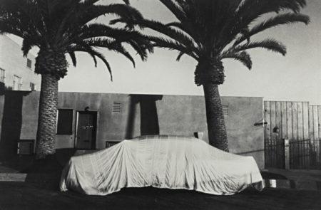 Robert Frank-Covered Car - Long Beach, California-1956