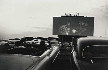 Drive-In Movie - Detroit-1955