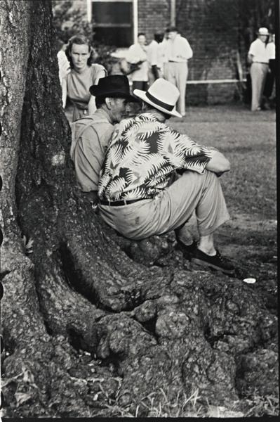 Robert Frank-Elisabethville, S. C. (Sic) (Courthouse Square - Elizabethville, North Carolina)-1955