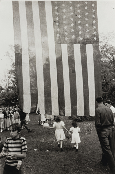Robert Frank-Jay, N. Y. (Fourth Of July)-1956