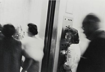 Robert Frank-Miami Beach Hotel (Elevator)-1955