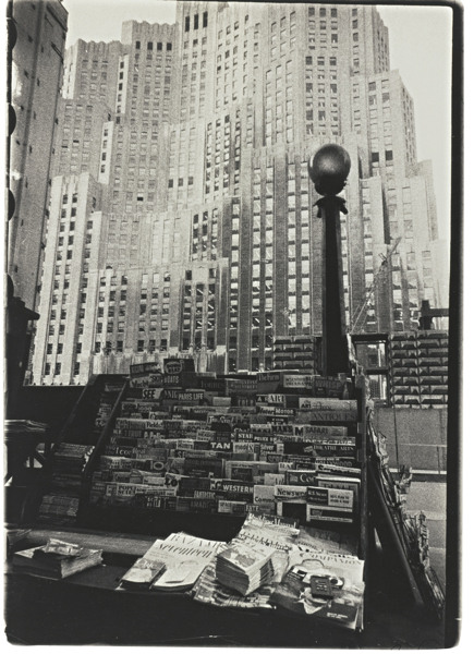 Robert Frank-Metropolitan Life Insurance Building - New York City-1955