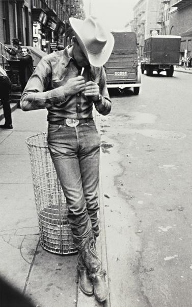 Robert Frank-Nyc (Rodeo - New York City)-1955
