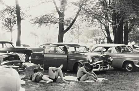 Robert Frank-Public Park - Ann Arbor, Michigan-1955