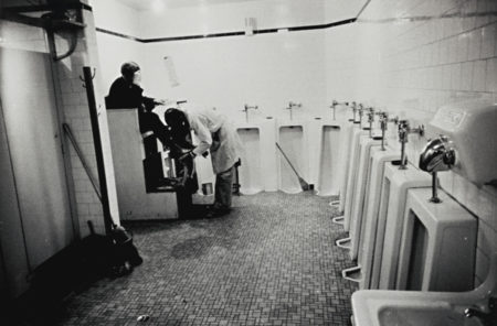 Robert Frank-Tennessee (MenS Room, Railway Station - Memphis)-1955