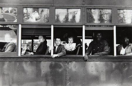 Robert Frank-Trolley, New Orleans-1955