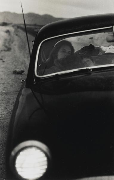 Robert Frank-U. S. 90, En Route To Del Rio, Texas-1955