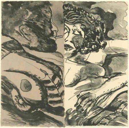 Robert Colescott-Drive-1989