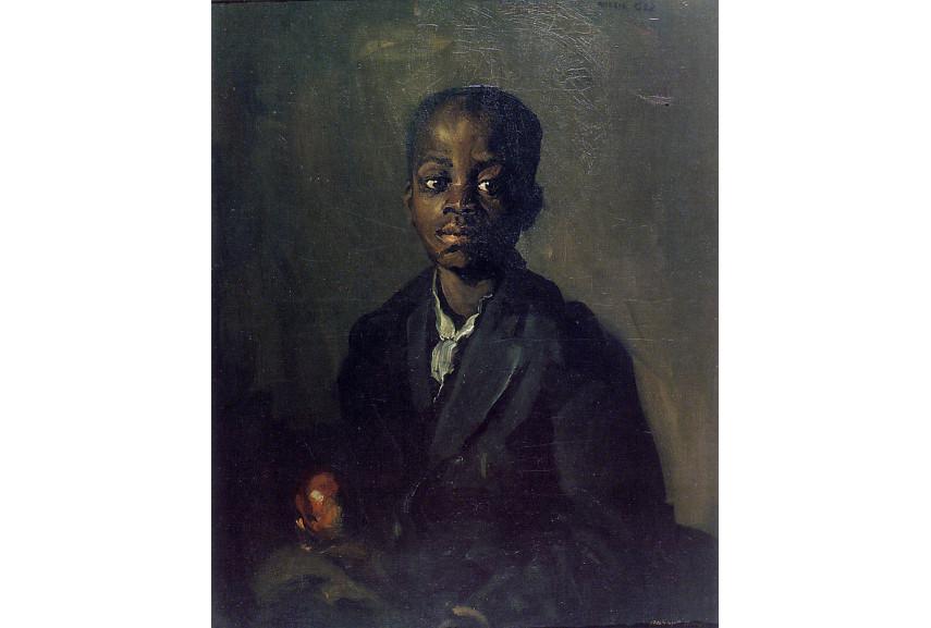 Robert Henri  -Portrait of Willie Gee, 1904 - Image via pinterestcom