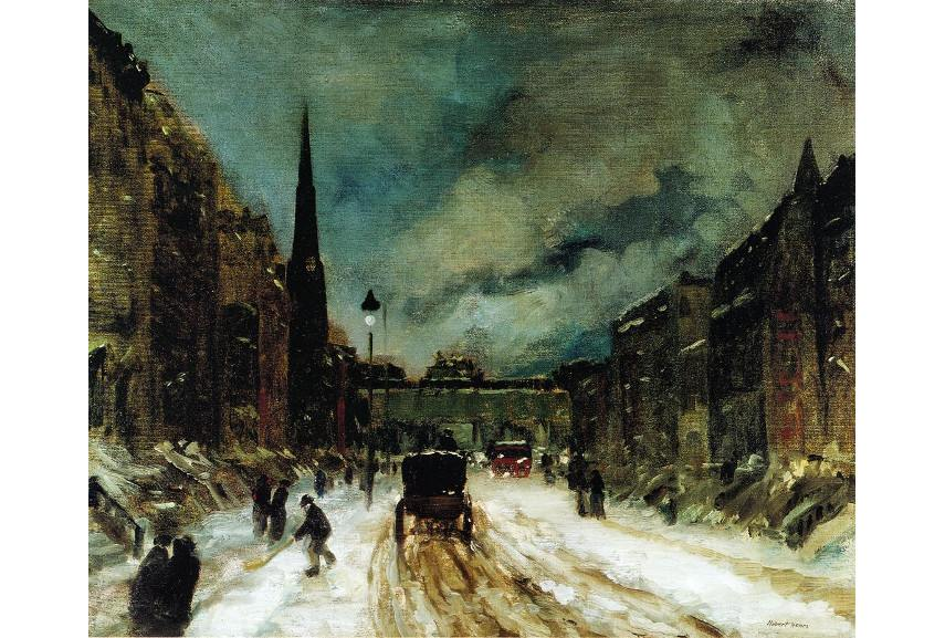 The American museum of William Glackens holds most American avant-garde art