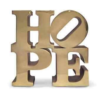 Robert Indiana-Hope-2009