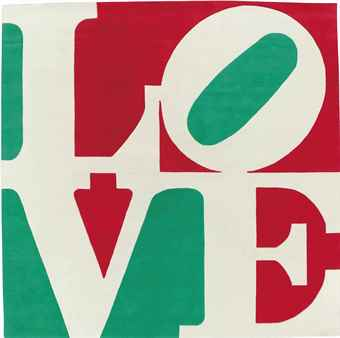 Robert Indiana-Italian Love-