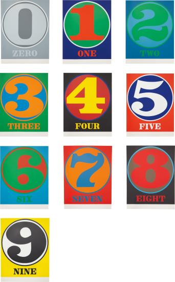 Robert Indiana-Numbers-1968