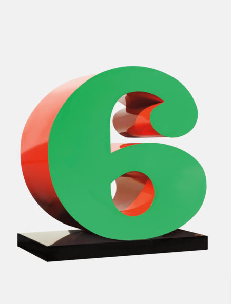 Robert Indiana-Six-1980