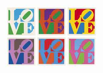 Robert Indiana-The Garden of Love-1982