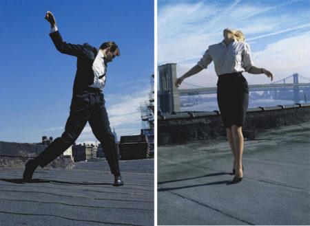 Robert Longo-Eric; Cindy from Men in the Cities-1981
