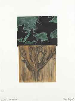 Robert Longo-Study for Imitate Your Past I-1983