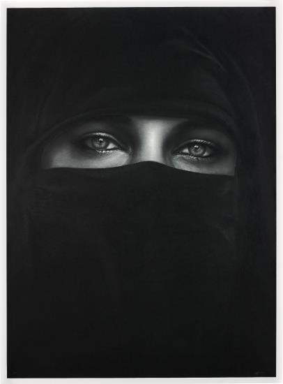 Robert Longo-Untitled (O)-2013