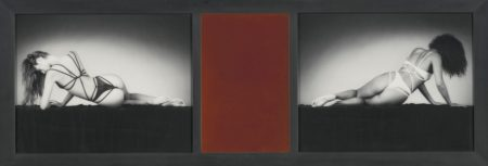 Robert Mapplethorpe-Mirror Image (Triptych)-1987