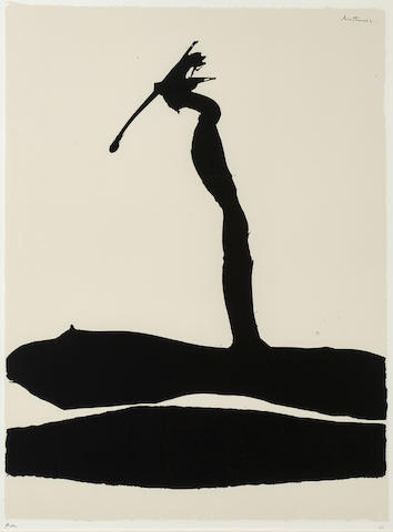 Robert Motherwell-Africa #4, from African Suite-1970