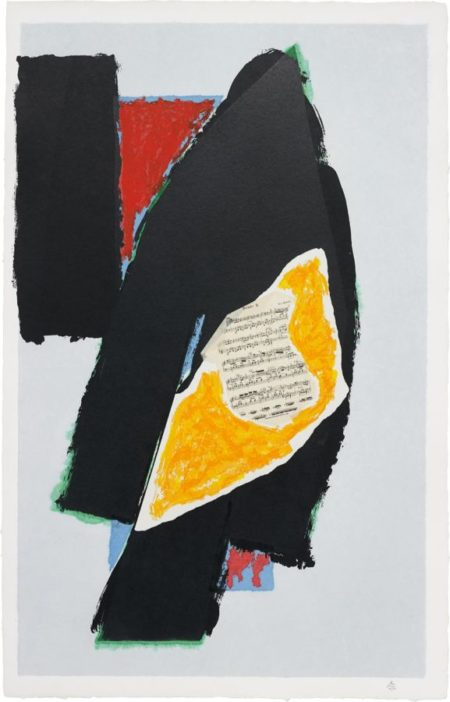 Robert Motherwell-Black For Mozart-1991