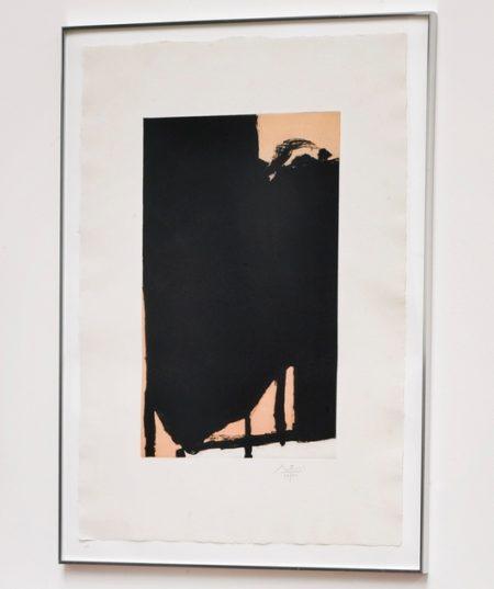 Robert Motherwell-Elegy Fragment II (Walker Art Center 360)-1985