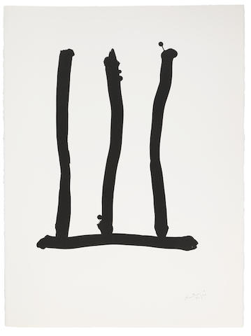 Robert Motherwell-Hommage a Picasso: Window-1973