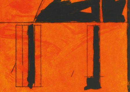 Robert Motherwell-La Casa De La Mancha (Walker Art Center 349)-1984