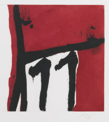 Robert Motherwell-Mexican Night II-1984
