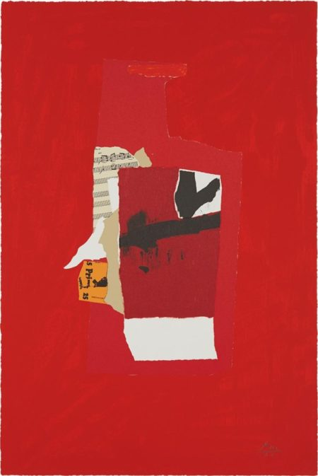 Robert Motherwell-Redness of Red-1985
