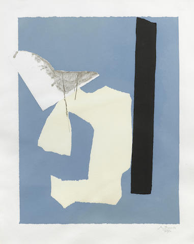 Robert Motherwell-Water's Edge-1984