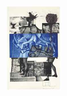 Robert Rauschenberg-Bellini #3, from Bellini Series-1988