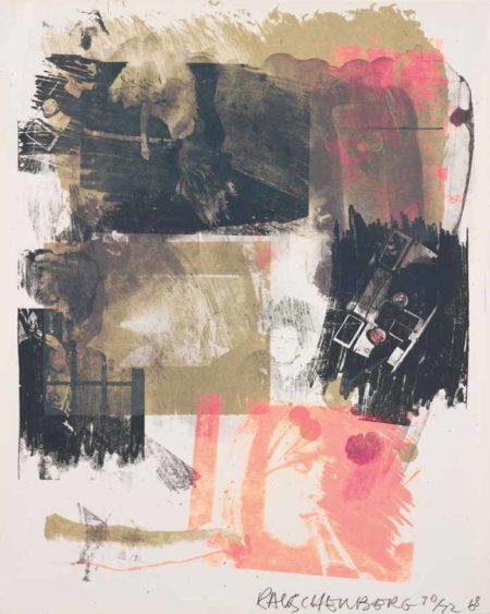 Robert Rauschenberg-Storyline III, from Reels (B+C)-1968