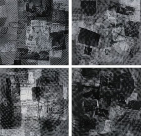 Surface Series From Currents- Seven Prints (Foster 108, 111-113, 117, 118 and 121)-1970
