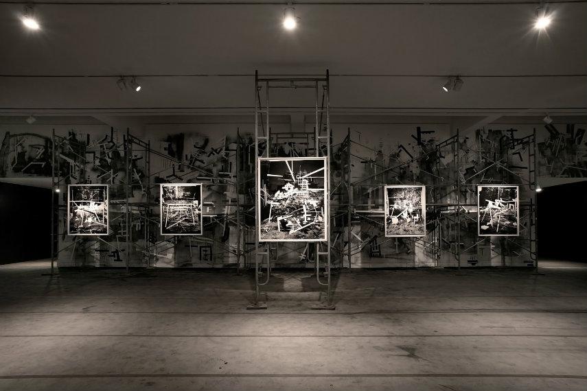 Rodrigo - Future Ruins, installation view, 2015 press print gallery museum video