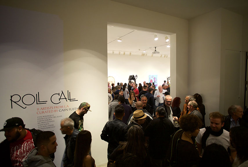 Roll Call exhibition