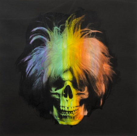 Ron English-Andy Warhol Skull-