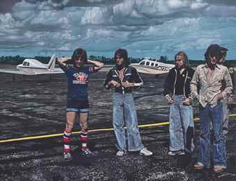 Ron Kleemann-Bay City Rollers, Their Own Cross-1979