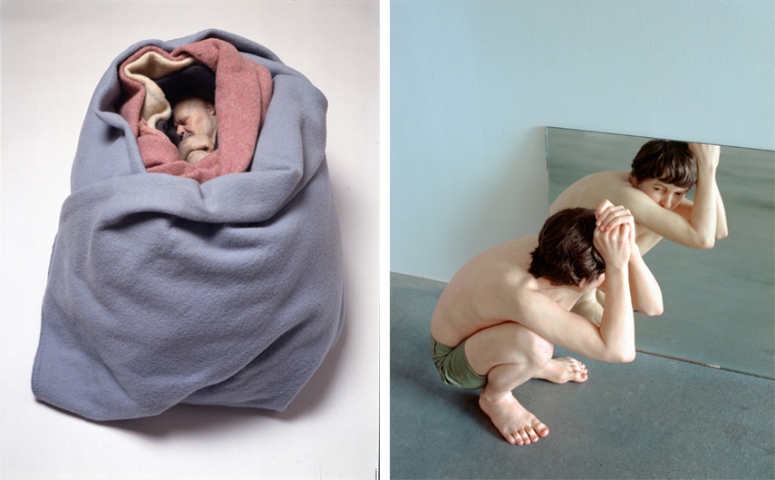 Ron Mueck sculptures