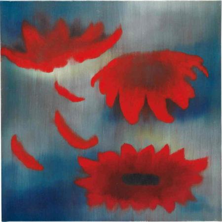 Ross Bleckner-Sky Flowers-2004